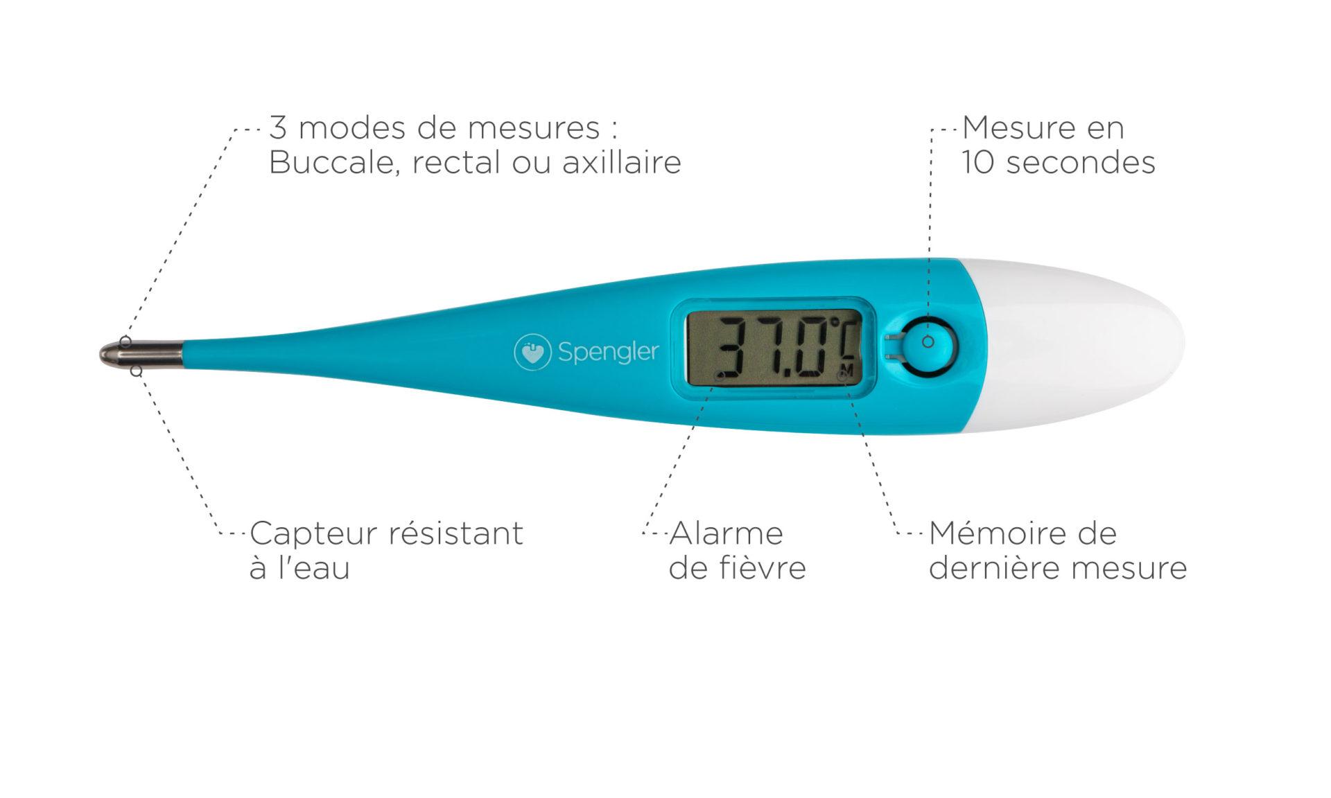 Thermomètre rectal Tempo 10